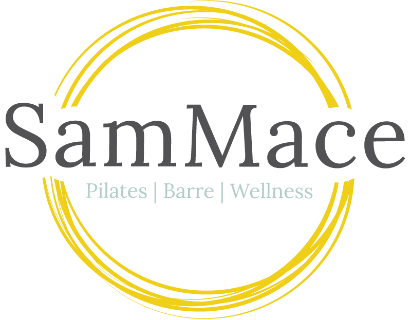Sam Mace Barre, Pilates Instructor Logo