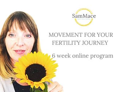 fertility journey exercise